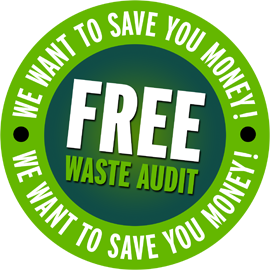 Free waste audit. We want to save you money on your business bin collections